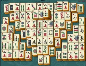 jogo de mahjong